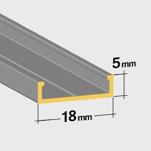 Guide inférieur 5mm