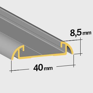 Guide inférieur 8,5mm