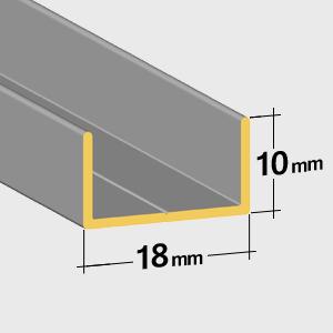 Guide inférieur 10mm