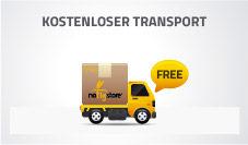 Mit NoFlyStore Transport Ihrer Fliegengitter ist kostenlos!